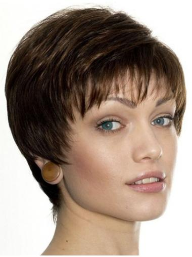 Lace Front Incredible Boycuts Straight Short Wigs