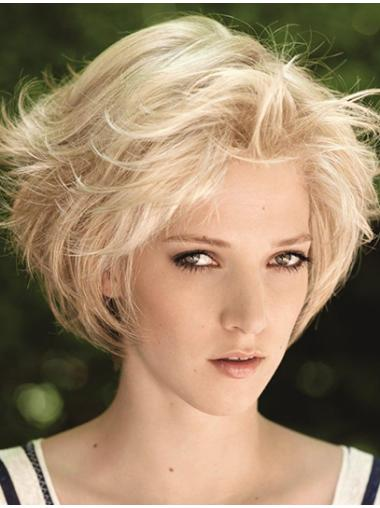 Amazing Blonde Lace Front Chin Length Remy Human Lace Wigs