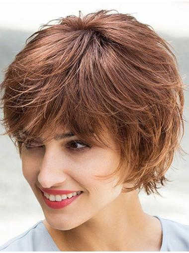Amazing Lace Front Straight Chin Length Glueless Lace Wigs