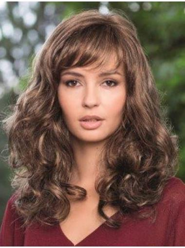 Braw Synthetic Lace Front Wavy Long Wigs