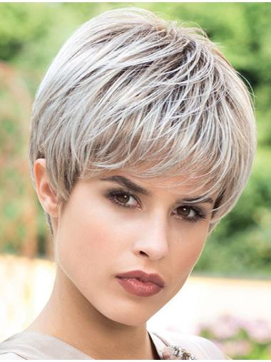 Straight Synthetic Cool Short Wigs