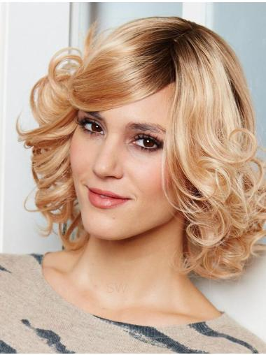 Best Blonde Wavy Chin Length Human Hair Wigs