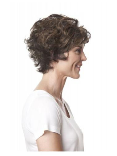 Cool Lace Front Curly Short Lace Wigs