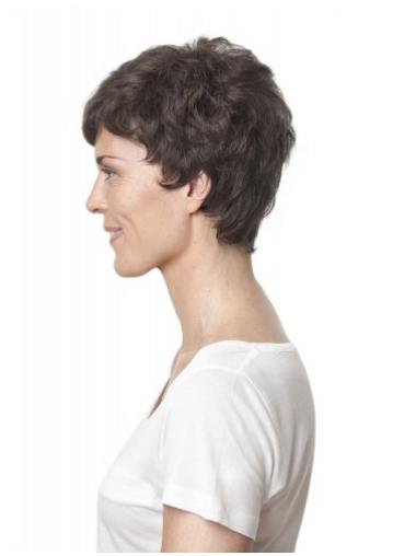 Lace Front Affordable Layered Curly Short Wigs