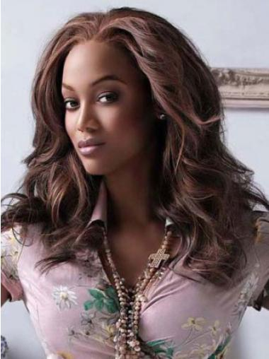 Tyra Bank HairStyle Long Wavy Lace Front Synthetic Wig