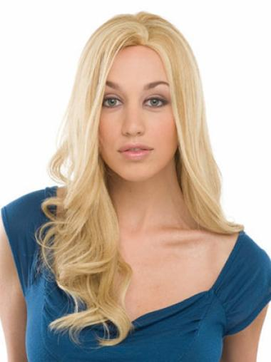 Cosy Blonde Wavy Long Celebrity Wigs