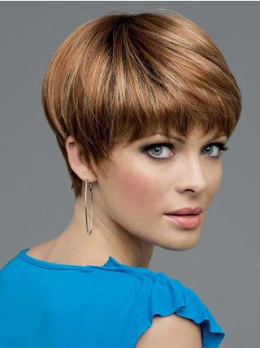 Lace Front Graceful Boycuts Straight Short Wigs