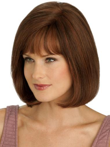 Braw Monofilament Straight Chin Length Full Lace Wigs
