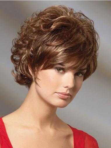 Fabulous Auburn Curly Short Classic Wigs
