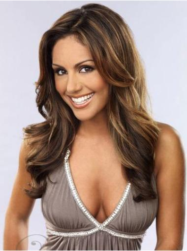 Preferential Lace Front Wavy Long Celebrity Wigs