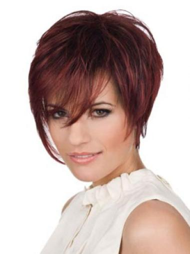 Cheap Lace Front Straight Short Celebrity Wigs