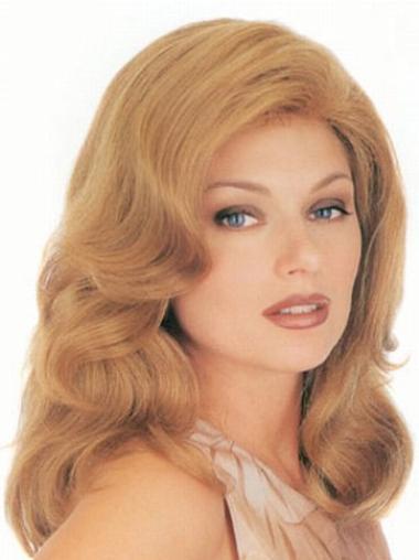 Great Blonde Wavy Long Classic Wigs