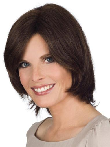 Easy Lace Front Straight Chin Length Bob Wigs
