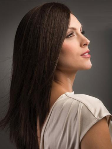 Comfortable Brown Straight Long Synthetic Wigs