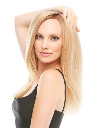 Beautiful Blonde Monofilament Remy Human Hair Wigs For Cancer