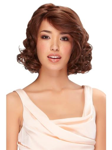 Cool Monofilament Wavy Chin Length Classic Wigs
