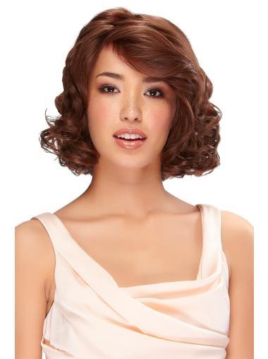 Cool Monofilament Wavy Chin Length Classic Wigs