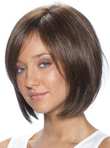 Braw Lace Front Straight Chin Length Bob Wigs