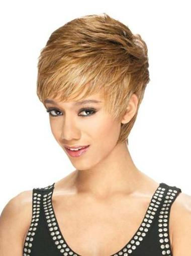 Cosy Lace Front Boycuts Blonde Short Wigs