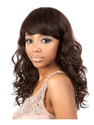 Best Auburn Wavy Long African American Wigs