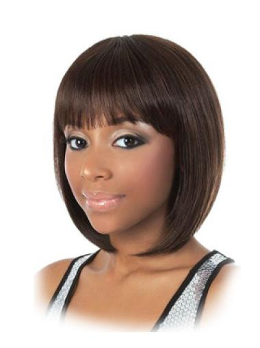 Online Blonde Straight Chin Length African American Wigs