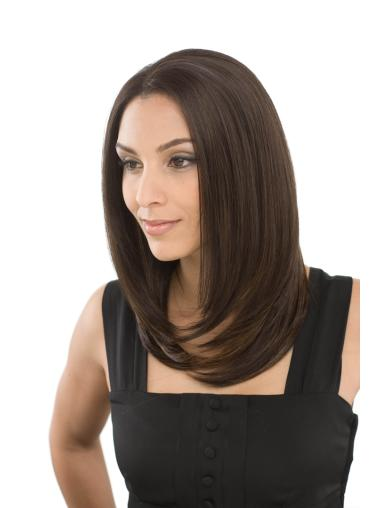 Lace Front Easy Straight Synthetic Medium Wigs