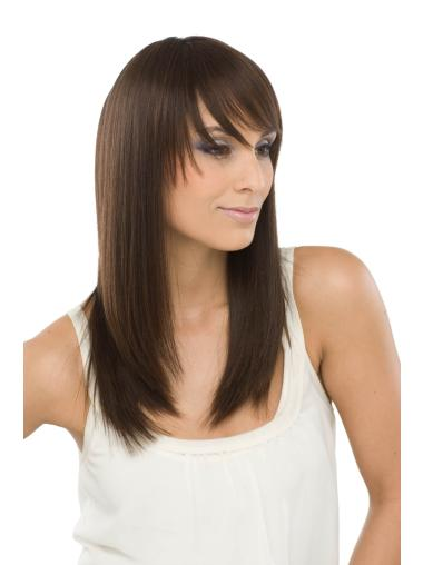 Top Blonde Straight Long Human Hair Full Lace Wigs