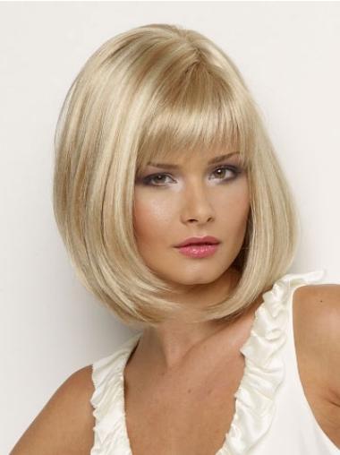 Braw Blonde Straight Chin Length Petite Wigs