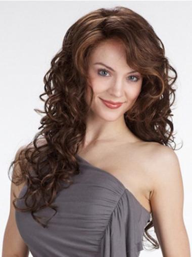 Lace Front Curly Synthetic Modern Long Wigs