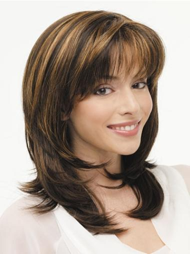 Lace Front Straight Synthetic Affordable Long Wigs