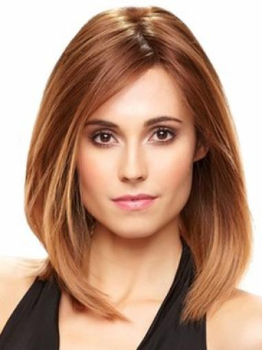 Traditiona Auburn Lace Front Shoulder Length Wigs