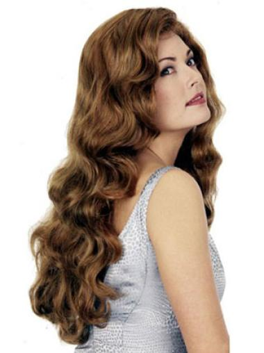 Impressive Auburn Wavy Long Synthetic Wigs