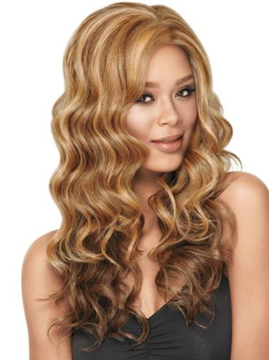 Easy Blonde Wavy Long Synthetic Wigs