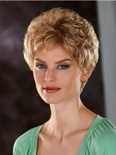 Best Blonde Wavy Short Classic Wigs