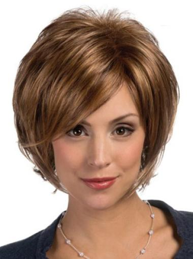 Fashion Straight Lace Front Chin Length Lace Wigs