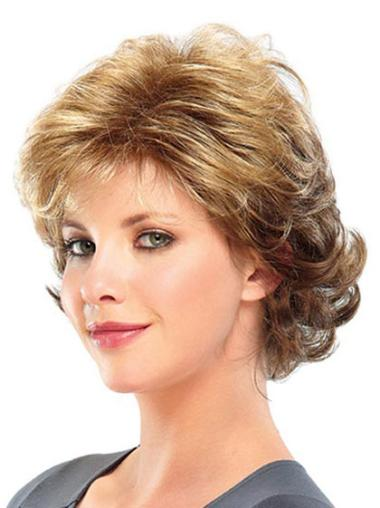 Discount Blonde Curly Short Classic Wigs