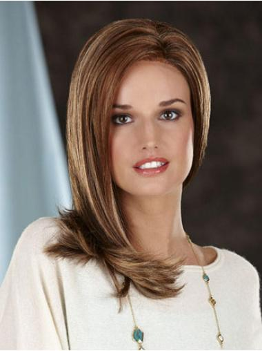 Trendy Lace Front Straight Synthetic Long Wigs