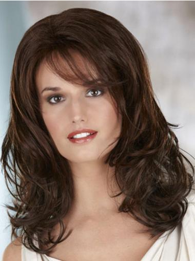 Discount Lace Front Wavy Long Classic Wigs
