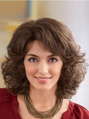 Gentle Lace Front Wavy Shoulder Length Classic Wigs