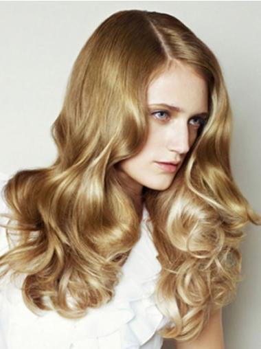Preferential Blonde Wavy Long Jessica Alba Wigs