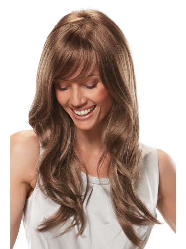 Ideal Lace Front Wavy Long African American Wigs