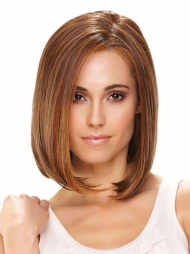Good Lace Front Straight Chin Length Lace Wigs