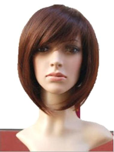 Discount Auburn Straight Chin Length Wigs
