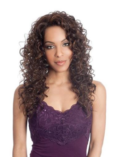 Synthetic Lace Front Curly Long Wigs