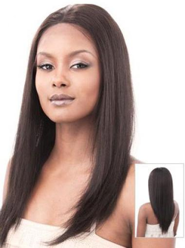 Gorgeous Monofilament Straight Long Lace Front Wigs