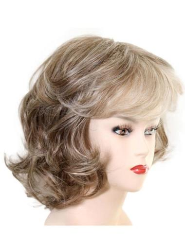 Stylish Wavy Chin Length Synthetic Wigs