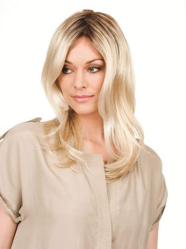 Pleasing Blonde Wavy Long Celebrity Wigs
