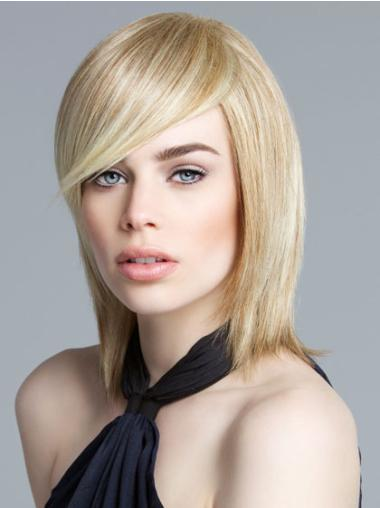 Bobs No-fuss Blonde Lace Front Medium Wigs