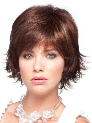 Braw Auburn Straight Chin Length Synthetic Wigs