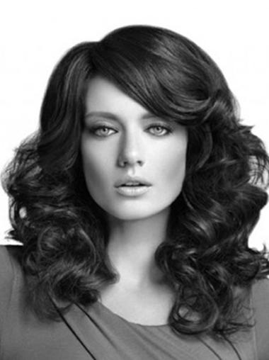 Best Black Curly Synthetic Long Wigs